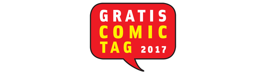 Event-Ankünder: Gratis Comic Tag 2017